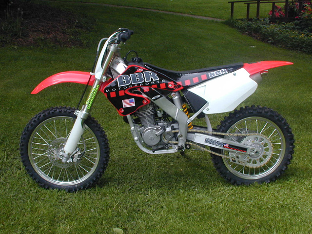 BBR XR200 CR125 Chassis
