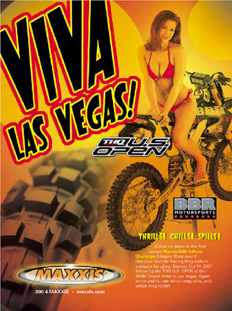Maxxis Tires Ad Featuring BBR YZ426