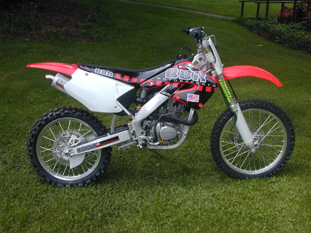 XR200 into CR125R